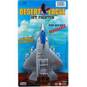 7 Pull Back Action Airplane Jet Fighter (Case of 48)