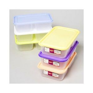 Food Storage Cont 2 Compartments (Case of 48)