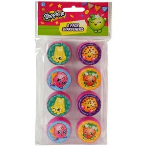 Shopkins 8 Pack Round Sharpeners