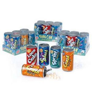 Soda Can Fizzy Candy - 1/Set