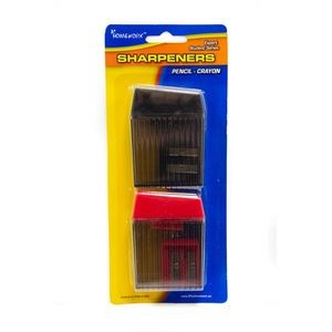 Pencil and Crayon Sharpeners - 4 pack