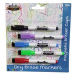 Custom Dry Erase Markers - 5 Pack in Assorted Colors
