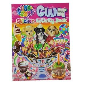 Lisa Frank Giant Sticker Activity Book (Case of 42)