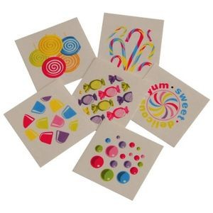 Candy Tattoos - 144/Gross (Case of 15)