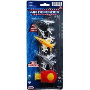 3-Piece 3 Airplane Defender With Launcher (Case of 96)