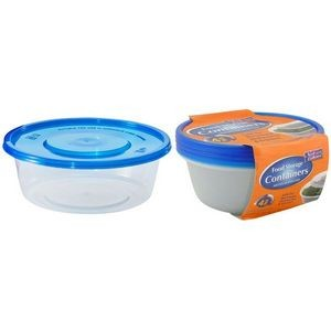 22 oz. Round Storage Container 4-Packs - Nicole Home Collection (Case