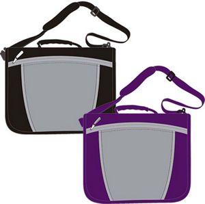 Custom 1.5 3-Ring Zipper Carry Bag Binder