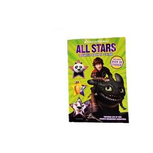 Dreamworks All Stars Color & Activity Books (Case of 12)
