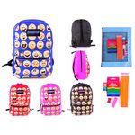 Custom Pre-Filled 17 Classic Emoji PureSport Backpack & Elementary School Sup