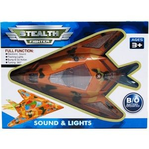 11.5 Battery Operated Jet with Light and Sound (Case of 18)