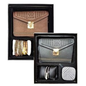 Girl's Gift Set - Mini Purse, Bracelet, Bluetooth Speaker
