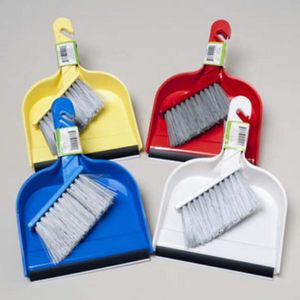 Custom Dust Pan Mini & Brush - 6 Assorted Colors