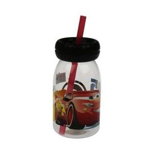Cars 3 Plastic Topper Tumbler with Straw