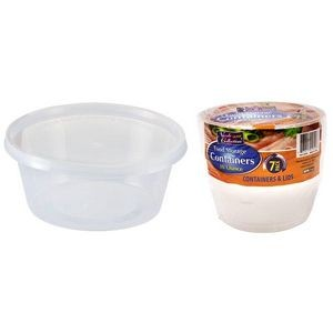 10 oz. Round Storage Container 7-Packs - Nicole Home Collection (Case