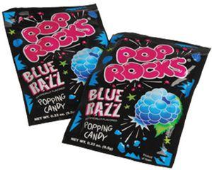 Custom Pop Rocks-Blue Razz