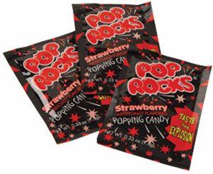 Custom Pop Rocks-Strawberry