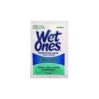 1 Box of 192 Singles Bulk Wet Ones Singles Antibacterial Cleansing Wipes