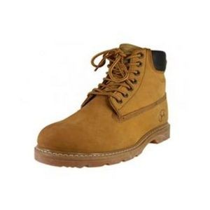 Men's Leather Insulated Work Boots - Tan (Size 7-12)