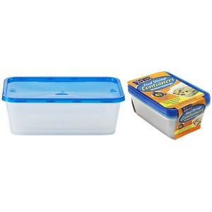 25 oz. Rectangular Storage Container 4-Packs - Nicole Home Collection