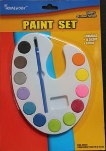 Custom Watercolor Paint Set