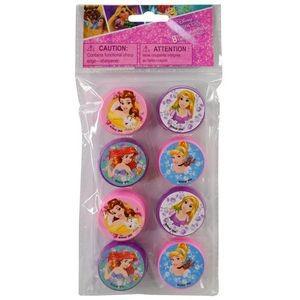 Princess 8 Pack Round Sharpeners