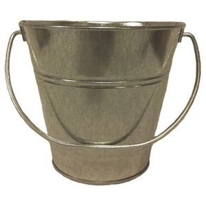 Custom Metal Bucket - Galvanize (7.5 x 7.5)