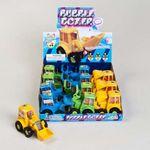 Custom Bubble Dozer Truck - Bubble Gum