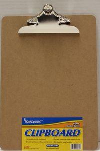 Custom Hardboard Clipboard - 9 x 12.5 - Letter Size