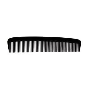 7 Black Hair Comb- Loose Case
