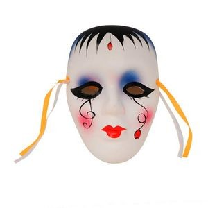 Ceramic 5 Decorative Lady Face Mask