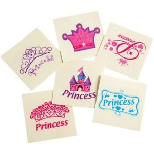 Princess Temporary Tattoos (Case of 15)