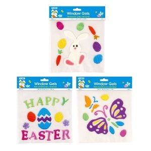 Easter Window Gels - Assorted Styles (Case of 48)