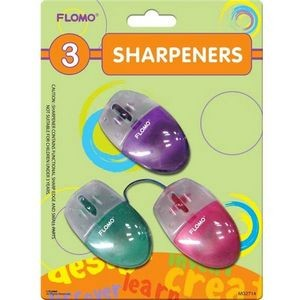3 pack Mouse Sharpeners
