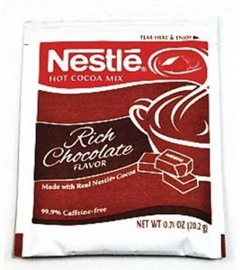 Custom Nestle Dark Chocolate Flavor Hot Cocoa Mix