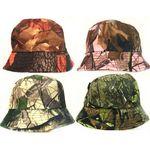 Custom Camouflage Bucket Hats Assorted