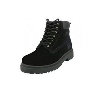 Men's Suede Insulated Work Boots - Black (Size 7-12)
