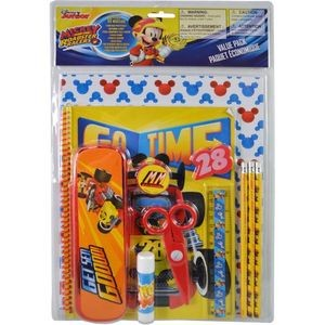 Mickey 11 Piece Value Pack with Plastic Pencil Case
