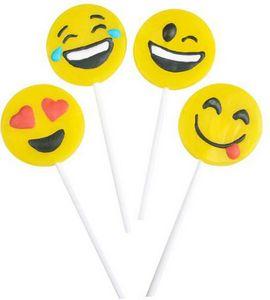 Custom Emoji Lollipops
