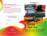 Custom Three Nights Accommodations in 11 Exciting Destinations - NO FEES/NO TAXES