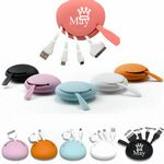 Custom Multifunction silicone usb cable kits