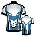 Custom Fondo Custom Cycling Jersey (Teal Green/White)