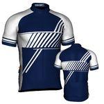 Custom Fondo Custom Cycling Jersey (Navy/White)