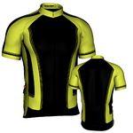 Custom Fondo Custom Cycling Jersey (Green/ Black)