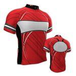 Custom Fondo Custom Cycling Jersey (Red/ White/ Black)