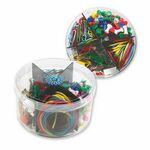 Custom Plastic Box w/ Office Supplies