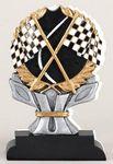 Custom Racing Flags Impact Trophy 6