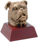 Custom Bulldog Resin Award - 4