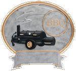 Custom BBQ Legend Resin Award 6