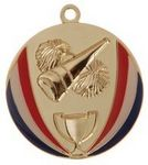 Custom Medal & Ribbon, Cheerleading, 2