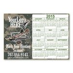 Custom Customizable Camo Calendar Magnet